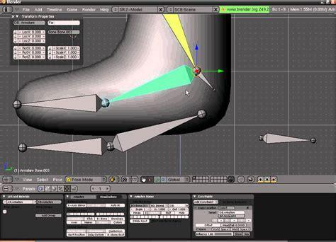 tutorial blender armature tutorial blender sistema de armature avan 231 ado perna