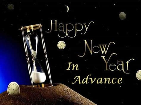happy new year in advance wishes messages