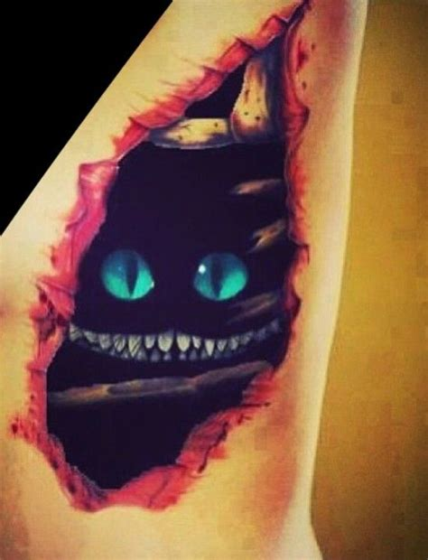 cheshire cat tattoo ink me pinterest