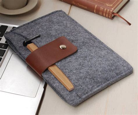 Handmade Tablet Covers - soft handmade tablet cases felt and leather