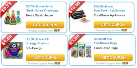 foodsaver printable coupons today s top new coupons savings from foodsaver ken s