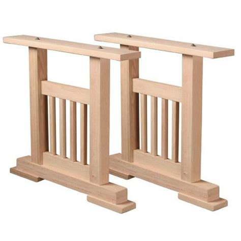 mission dining table pedestal kit s restorers 174