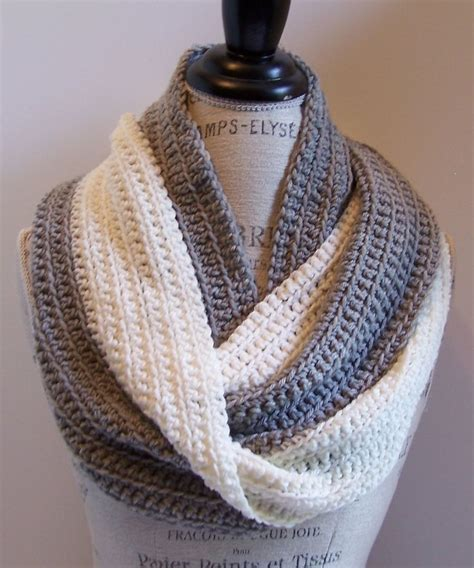 pinterest pattern for infinity scarf mollie infinity scarf by kristina olson free crochet