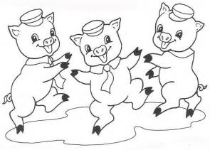 3 Pigs Coloring Page pig coloring pages coloring pages to print