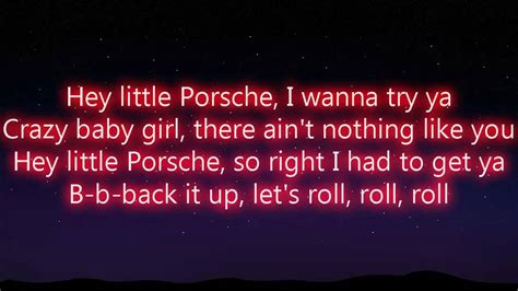 Porche Lyrics hey porsche nelly lyrics
