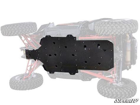 honda talon  full skid plate jb fab custom atv fabrication