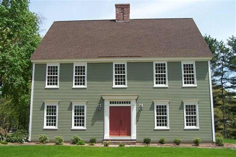 classic colonial homes granby colonial style exterior colors salts and paint