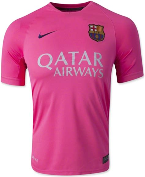 Pink Ori New jersey barcelona pink 2014 2015 big match