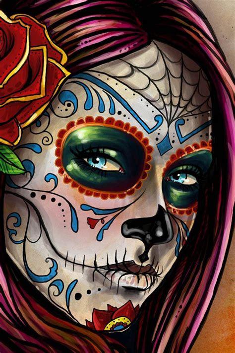 Pinterest Tattoo Skull Mexican | la catrina mexican art pinterest sugar skull art