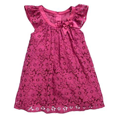 pattern for black lace dress baby kids girls rose flower pattern lace dress princess