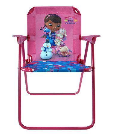 doc mcstuffins canvas chair