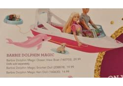 barbie dolphin magic boat toys r us toys r us ultimate guide to play toy book ad for 2017