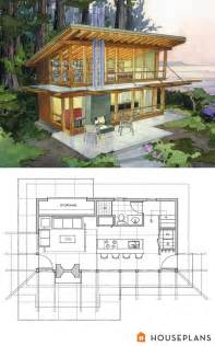 modern cabin floor plans 1000 ideas about small modern house plans on