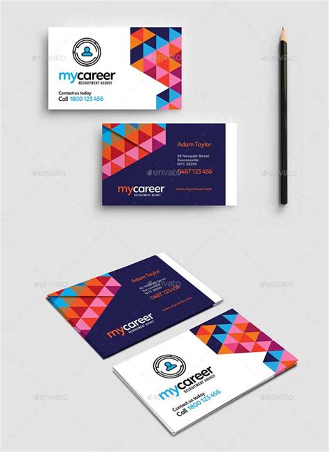 recruiting business card templates 50 world best modern business cards for designers of the world