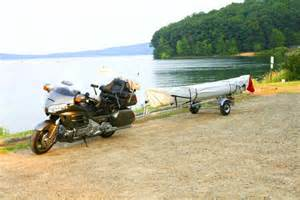 Download image motorcycles towing kayak trailer pc android iphone