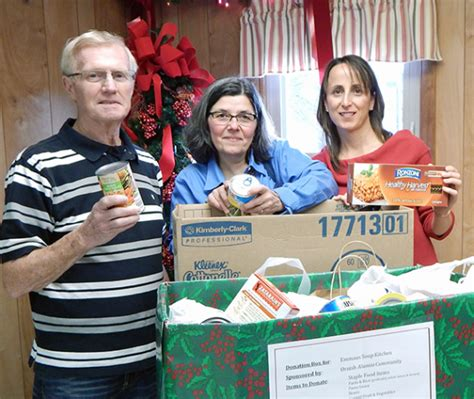 Soup Kitchen Erie Pa by Ornish Program Alumni Donate To Soup Kitchen Benedictine Of Erie