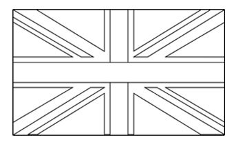 the union flag colouring pages