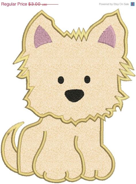 Embroidery Design Dog | 40 off yorkie puppy dog applique machine embroidery