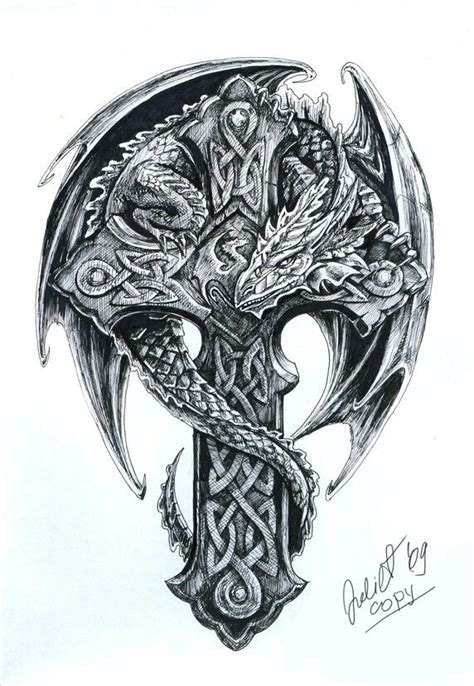 dragon warrior tattoo designs 25 best ideas about celtic tattoos on