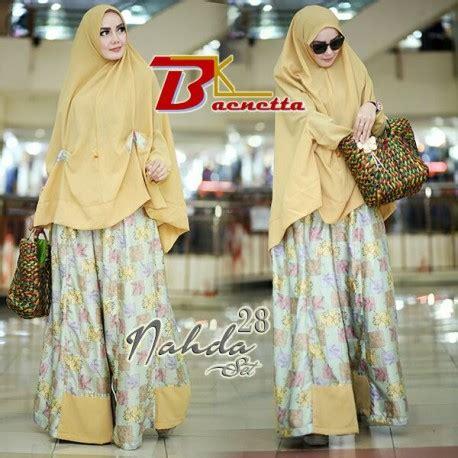 Shehrazat Syari 5 nahda 28 yellow baju muslim gamis modern