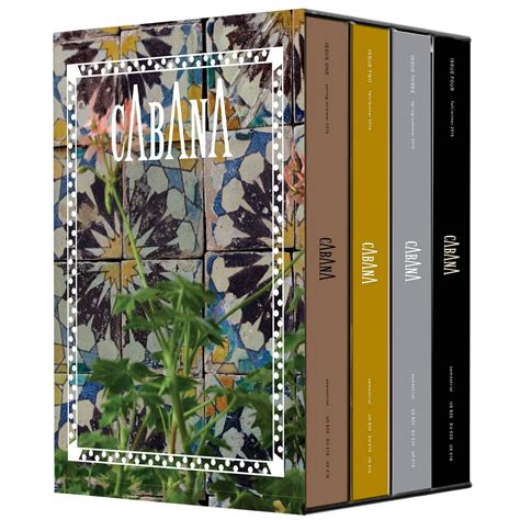 Limited Edition Bundle Velve Tin 1 collector s limited edition box set with issues 1 2 3 and 4 of cabana magazine at 1stdibs