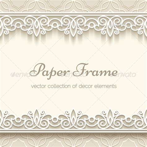 How To Make Lace Paper - paper lace background borders best gfx