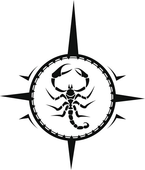 scorpion design tattoo majestic tribal scorpion tattoos that will make heads turn