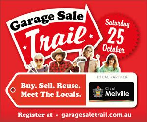 Melville Garage Sale garage sale trail 2014 perth