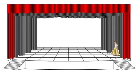 Floor Plan Template For Theatre Click Here For A Front Projection Template Of The Cvr Theatre Template