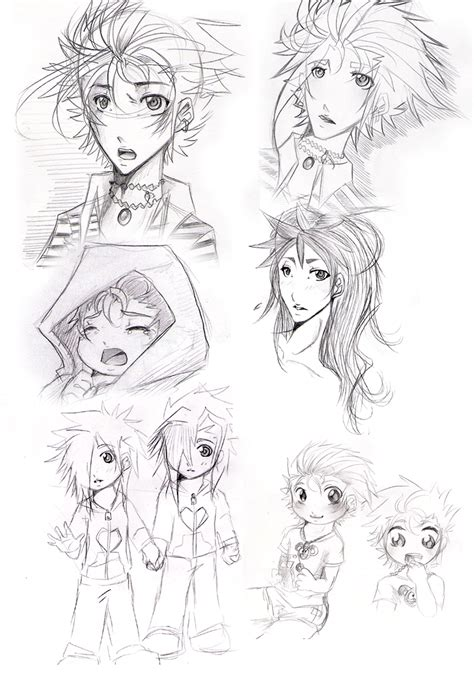 D Generation Sketches by Second Generation Sketches By Sardiini On Deviantart