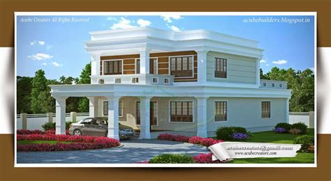 kerala home design khd flat style kerala home design at 3314 sq ft