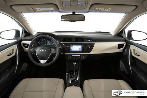2015 Corolla Interior by Novo Corolla 2015 Pre 231 O Consumo Fotos Ficha T 233 Cnica