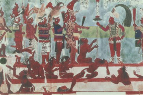 imagenes de murales mayas pintura mural 3 en los mayas