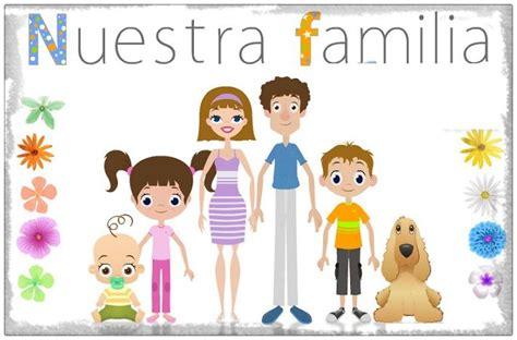 imagenes sobre la familia animada imagenes de familia caricatura con mensaje imagenes de