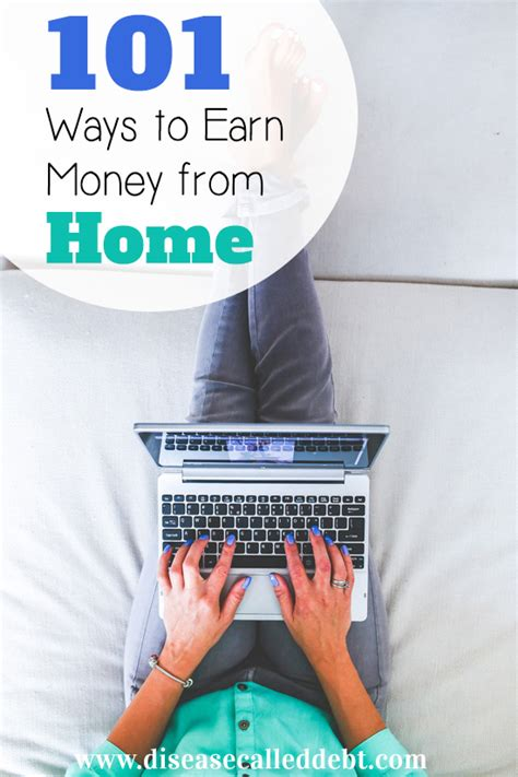 101 ways to earn money from home disease called debt