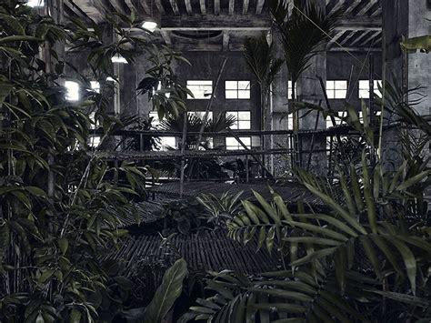 interim bureau d 騁udes bureau a install temporary garden inside warehouse