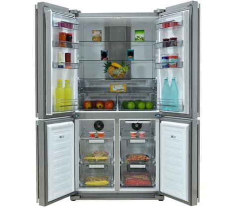 Freezer Sharp 6 Rak buy sharp sj f1526e0i en fridge freezer stainless steel free delivery currys