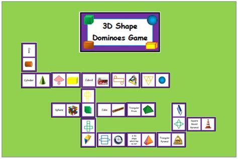 3d shape pattern games nyla s crafty teaching 3d shape dominoes