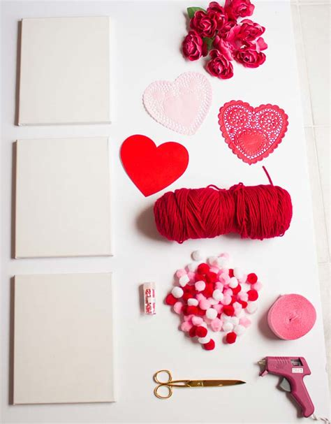 easy homemade valentine day decorations craft mart