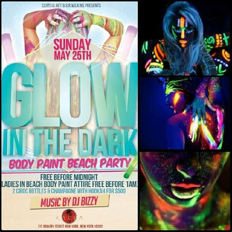 glow in the paint nyc nyc glow in the paint tickets sun