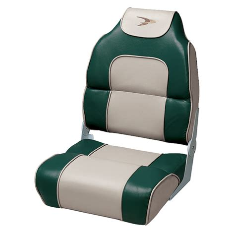 alumacraft boat seats used wise seating alumacraft style high back folding boat seat