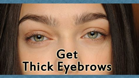 Get Eyebrows by How To Get Thicker Eyebrows Without Makeup Mugeek Vidalondon