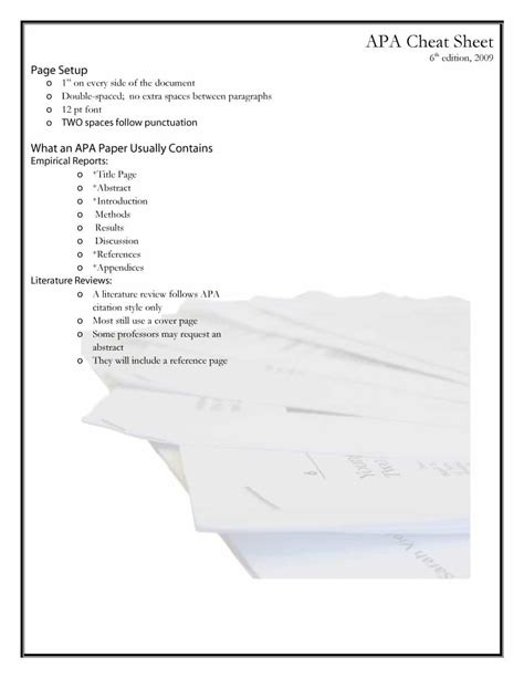 40 apa format style templates in word pdf