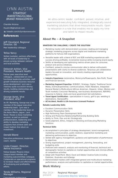 Program Management Resume Examples by Directeur R 233 Gional Exemple De Cv Base De Donn 233 Es Des Cv