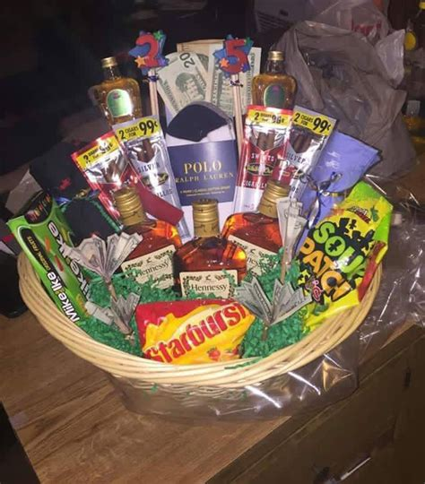 gift basket ideas for him 25 best ideas about birthday basket on