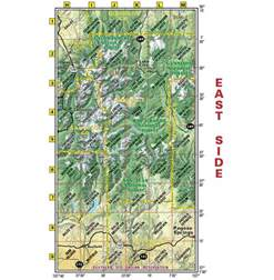 southwest colorado trails recreation topo map latitude