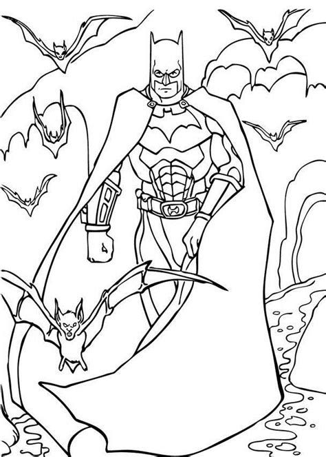 Printable Coloring Pages For Boys Batman by Coloring Pages For Boys 2018 Dr