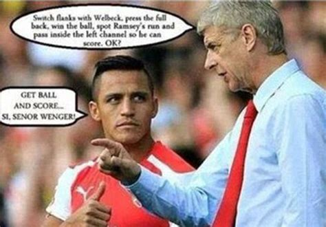 Arsenal Memes - arsenal vs southton best tweets and memes after alexis