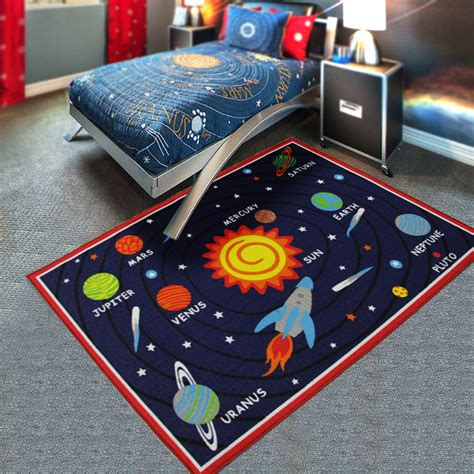 Square Outer square outer space carpet