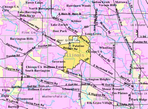 map of palatine illinois file palatine il 2009 reference map gif wikimedia commons